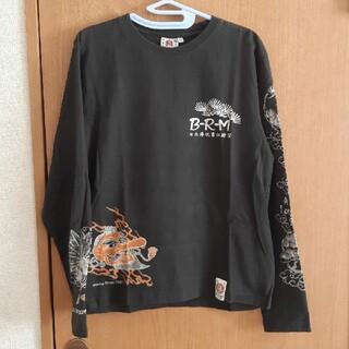 バクレツランマンムスメ(BAKURETU-RANMAN-MUSUME(B-R-M))の長袖Tシャツ(天狗)【爆爛】(Tシャツ/カットソー(七分/長袖))