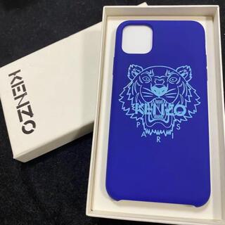 Kenzo Tiger ピンクiPhone11 pro Max ケースブランド