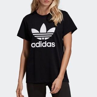 adidas - アディダス トレフォイル Tシャツ ブラック no.38