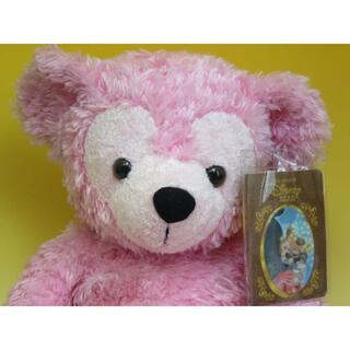 ダッフィー - ディズニー ベア ピンク PINK 2003年 短毛 新古品 絵本&WDW 2点
