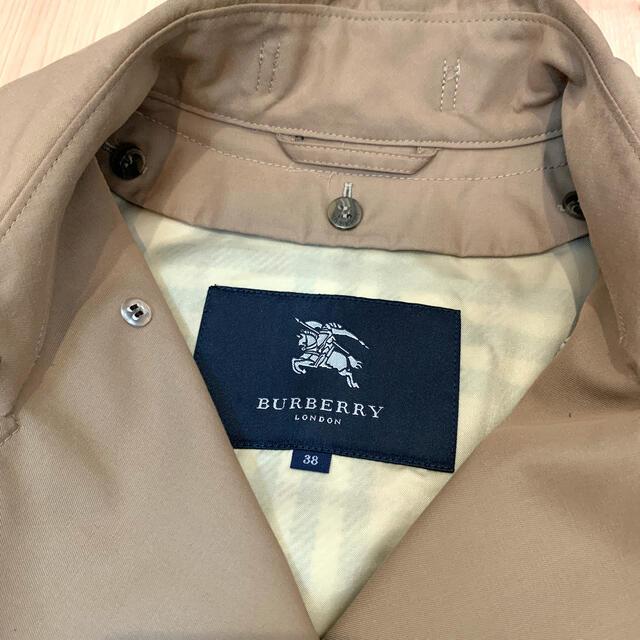 BURBERRY(バーバリー)のBurberry 日本製トレンチコート ノバチェック 38 ライナー付 レディースのジャケット/アウター(トレンチコート)の商品写真