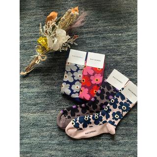 marimekko - 新品マリメッコ靴下4点セット❤︎組み合わせ変更可❤︎