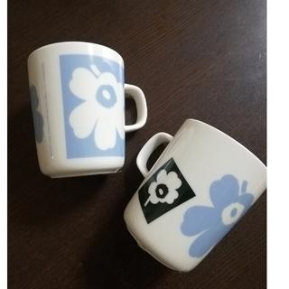 marimekko - marimekko マリメッコ 70周年 ウニッコ マグカップ 2つセット