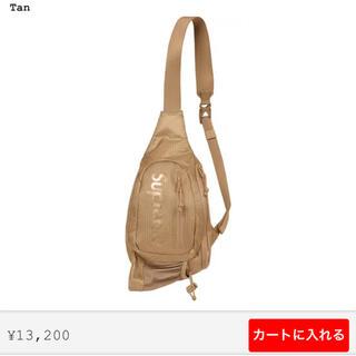 Supreme - supreme sling bag Tan