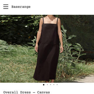 EDIT.FOR LULU - 【baserange】ベースレンジ  overall dress