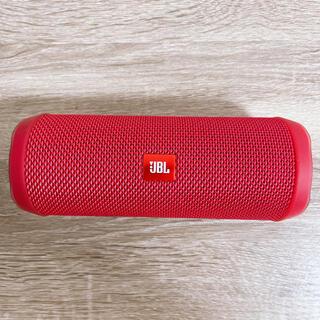 フリップ(Flip)のJBL FLIP4 Bluetoothスピーカー RED(スピーカー)