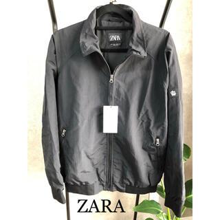 ZARA - 【新品】ZARA ジップアップ 薄手 ジャケット 軽量 スポーティー メンズ