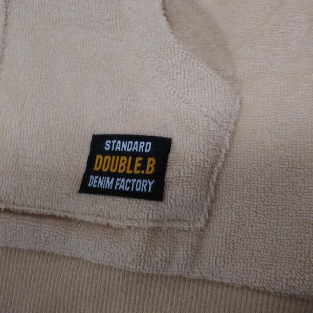 DOUBLE.B(ダブルビー)のお値下げ中! ベスト キッズ/ベビー/マタニティのキッズ服男の子用(90cm~)(ジャケット/上着)の商品写真