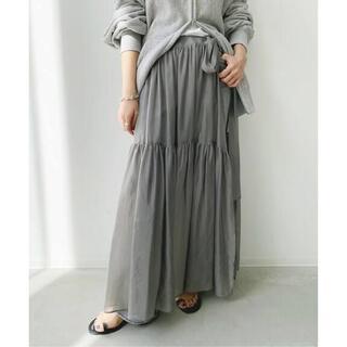 L'Appartement DEUXIEME CLASSE - タグ付き未使用、Cupra Silk Organdy Skirt