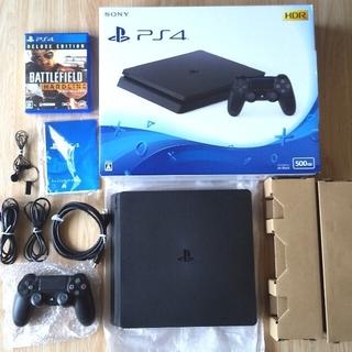 PlayStation4 - PS4 値下げ再出品 CUH-2100A本体一式+おまけソフト