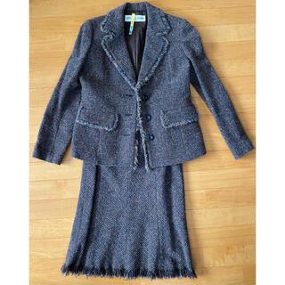 クリスチャンオジャール(CHRISTIAN AUJARD)のジャケット  スカート 2点セット CHRISTIAN AUJARD 上下セット(スーツ)