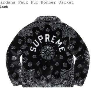 Supreme - supreme Bandana Faux Fur Bomber Jacket M