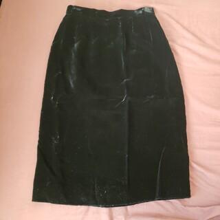 【Mydol】ベルベットスカート(ひざ丈スカート)