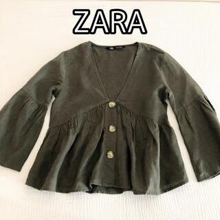 ZARA - ZARA ザラ カットソー ブラウス シャツ トップス