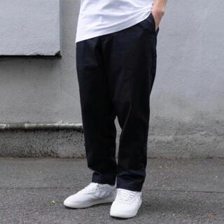 ワンエルディーケーセレクト(1LDK SELECT)のCup And Cone easy tapered pants 2 black (チノパン)