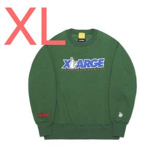 XLARGE - 【新品未使用】FR2 x XLARGE Logo Crew Sweat XL