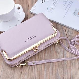 ▪️ショルダーバッグ ☆ピンク☆ 長財布 カードケース お財布ポシェット