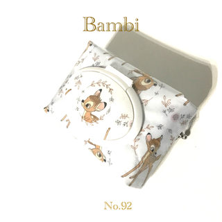 ディズニー(Disney)の♪Bambi♪  No.92   お尻拭きポーチ(ベビーおしりふき)