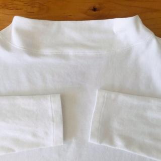 MUJI (無印良品) - 無印良品モックネックTシャツ サイズXS ★2020AW