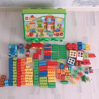 Lego - レゴデュプロ みどりのコンテナ コンテナ割 10580 追加ブロック