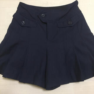 マークバイマークジェイコブス(MARC BY MARC JACOBS)のマークバイマークジェイコブス ネイビー スカート ショートパンツ キュロット (ショートパンツ)