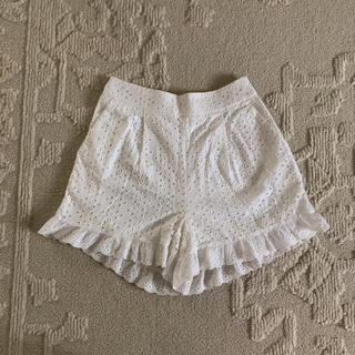 ロキエ(Lochie)のlace short pants(ショートパンツ)