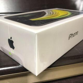iPhone - 新品未使用 iPhone SE2 128GB ブラック