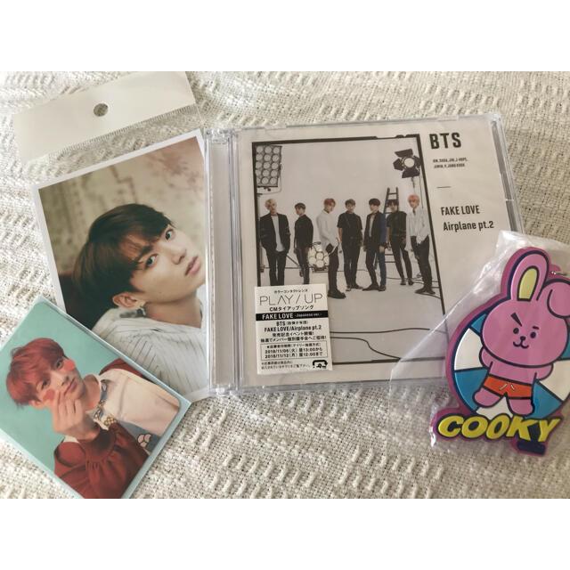 防弾少年団(BTS)(ボウダンショウネンダン)のBTS CD ポスカ キーホルダー セット エンタメ/ホビーのCD(K-POP/アジア)の商品写真