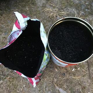 自家製 もみ殻くん炭 30L 籾殻薫炭(その他)