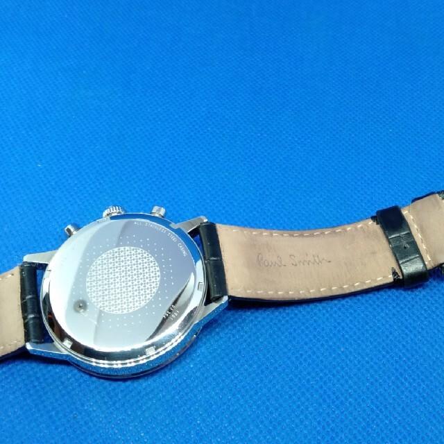 Paul Smith(ポールスミス)のポールスミス腕時計 クロノグラフ 電池交換済! メンズの時計(腕時計(アナログ))の商品写真