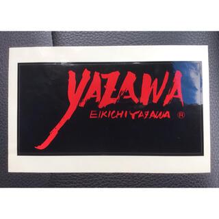 ヤザワコーポレーション(Yazawa)の矢沢永吉 E.YAZAWA フデロゴ 筆ロゴ ステッカー YAZAWA CLUB(ミュージシャン)