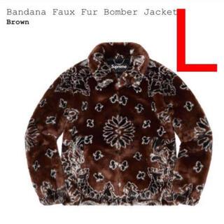 Supreme - L Supreme Bandana Faux Fur Bomber Jacket