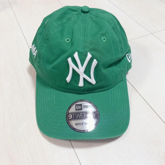 NEW ERA(ニューエラー)の【新品】MOMA×New Era NYヤンキース/ニューエラ/グリーン  メンズの帽子(キャップ)の商品写真