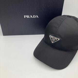 プラダ(PRADA)のプラダ ブラック メンズ キャップ(キャップ)
