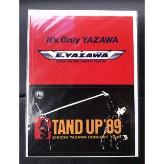 ヤザワコーポレーション(Yazawa)の矢沢永吉ステッカー IT'S ONLY YAZAWA STAND UP '89(ミュージシャン)