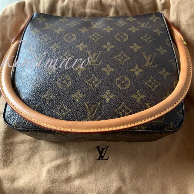 LOUIS VUITTON(ルイヴィトン)の美品 LOUIS VUITTON モノグラム ルーピング MM レディースのバッグ(ショルダーバッグ)の商品写真