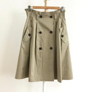 ロイスクレヨン(Lois CRAYON)のLois Crayon トレンチスカート(ひざ丈スカート)