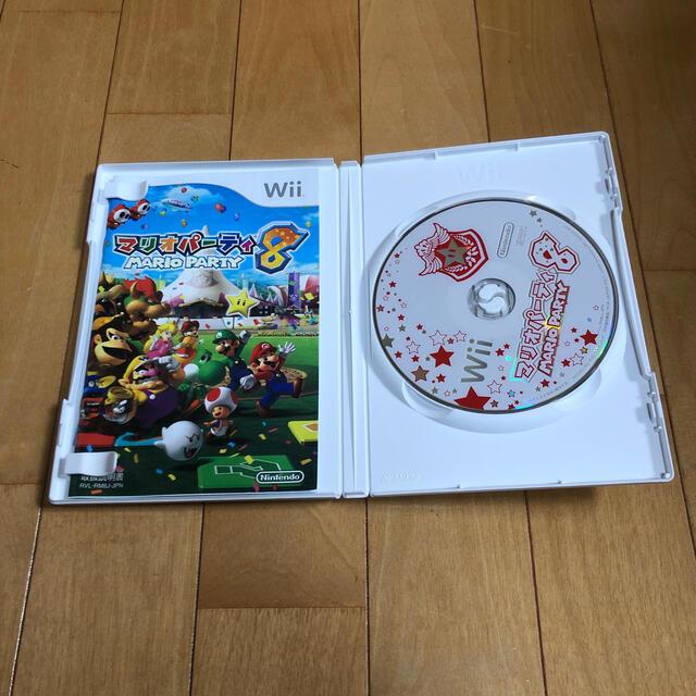 Wii(ウィー)のHama様専用 マリオパーティ 8 どうぶつの森 エンタメ/ホビーのゲームソフト/ゲーム機本体(その他)の商品写真