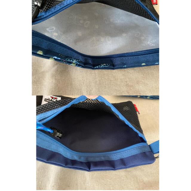 CHUMS(チャムス)の新品未使用 チャムス フラットポーチ 2点セット レディースのファッション小物(ポーチ)の商品写真