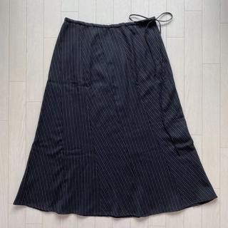 コムサイズム(COMME CA ISM)の美品 comme ca ism コムサイズム フレアスカート プリーツスカート(ひざ丈スカート)