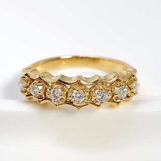 AHKAH - アーカー リング AHKAH ダイヤモンド K18YG 指輪 約8号