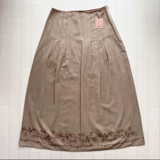 コムサイズム(COMME CA ISM)の美品 comme ca ism コムサイズム スカート 春服(ロングスカート)