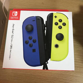 Nintendo Switch - 【新品未使用】Nintendo JOY-CON (L)/(R) ブルー/イエロ