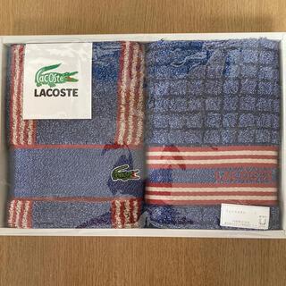 LACOSTE - フェイスタオル 二枚 ラコステ