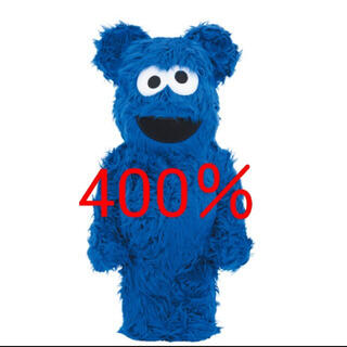 BE@RBRICK COOKIE MONSTER CostumeVer.400%