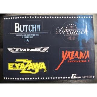 ヤザワコーポレーション(Yazawa)の矢沢永吉 ステッカー BUTCH!! Dreamer ロゴ 特典 非売品(ミュージシャン)
