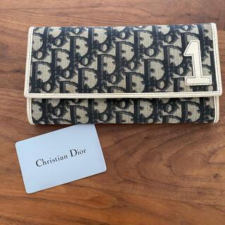 Christian Dior - dior ChristianDior 長財布 財布 人気柄 人気