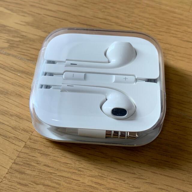 iPhone(アイフォーン)の未使用 iPhone イヤフォン 純正 スマホ/家電/カメラのスマホアクセサリー(その他)の商品写真
