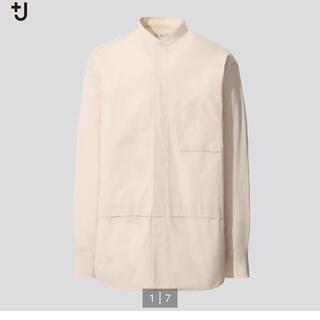 UNIQLO - ユニクロ +J ジルサンダー スタンドカラー シャツ