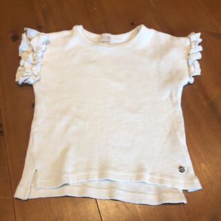 petit main - プティマイン 110サイズ Tシャツ トップス リブカットソー  半袖